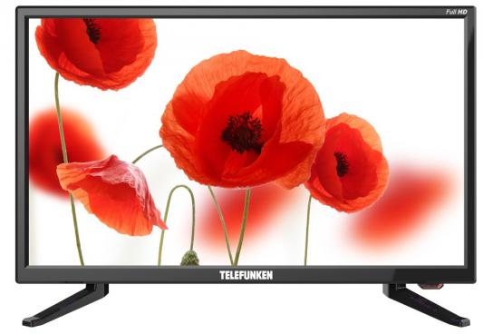 Телевизор LED Telefunken 21.5 TF-LED22S49T2 черный/FULL HD/50Hz/DVB-T/DVB-T2/DVB-C/USB (RUS)