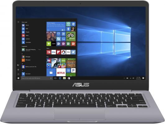 Ноутбук ASUS VivoBook S14 S410UA-BV1157T 14 1366x768 Intel Core i5-8250U 500 Gb 4Gb Intel UHD Graphics 620 серый Windows 10 Home 90NB0GF2-M18740 ноутбук hp stream 14 ax017ur 14 1366x768 intel celeron n3060 32 gb 4gb intel hd graphics 400 белый windows 10 home 2eq34ea