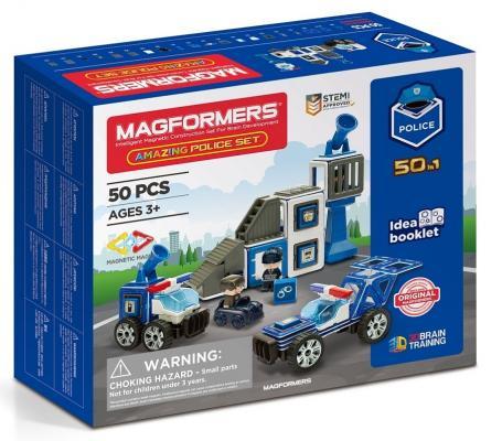 Конструктор Magformers Amazing Police Set 50 элементов цена