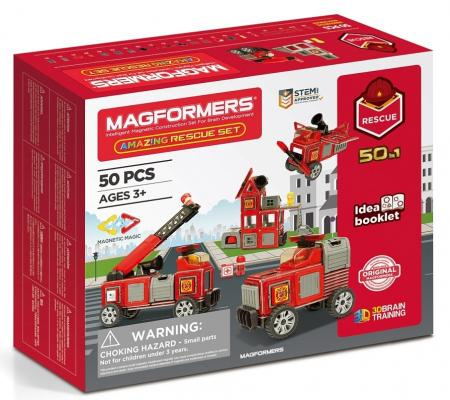 Конструктор Magformers Amazing Rescue Set 50 элементов magformers r c cruiser set 707003 63091
