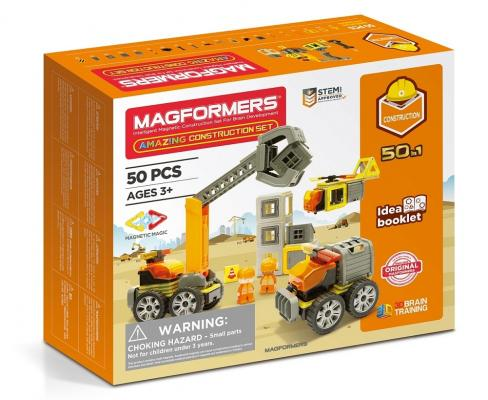 Конструктор Magformers Amazing Construction Set 50 элементов magformers r c cruiser set 707003 63091