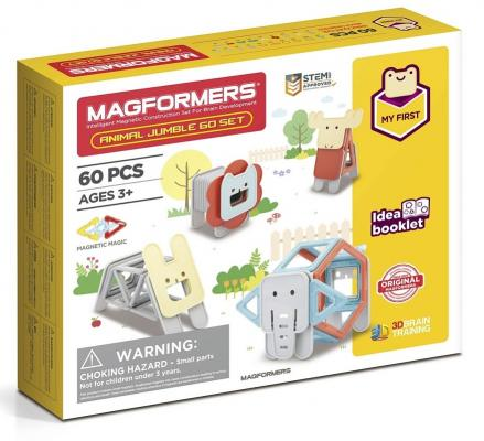 Магнитный конструктор Magformers Jumble 60 элементов magformers 705001 sweet houseset magformers