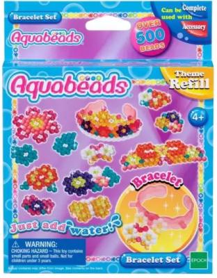 Набор для творчества Aquabeads Браслетики 501 элемент набор браслетики семицветики