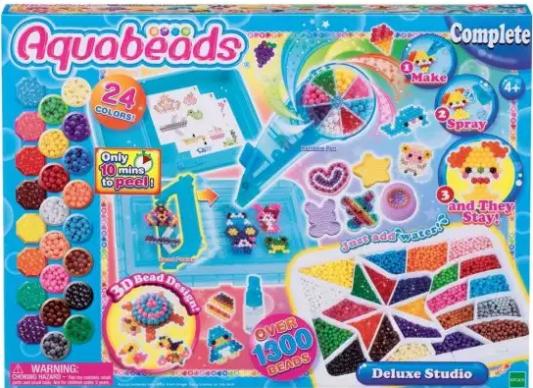 мозаика aquabeads набор бусин студия новичка Набор для творчества Aquabeads Студия Делюкс