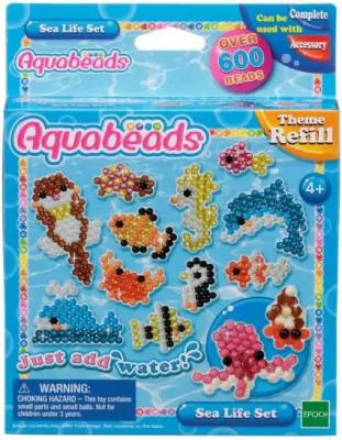 Набор для творчества Aquabeads Морские животные 604 элемента набор для творчества aquabeads аксессуар гребешок 31198