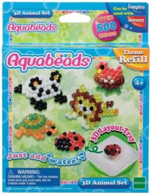 Набор для творчества Aquabeads Зверюшки набор для творчества aquabeads аксессуар гребешок 31198