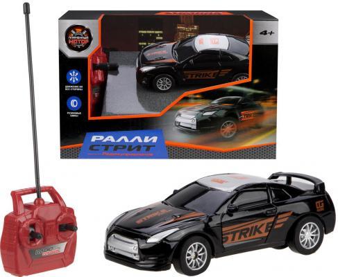 Автомобиль Пламенный мотор Ралли Стрит 870330 от 4 лет черный автомобиль balbi автомобиль черный от 5 лет пластик металл rcs 2401 a