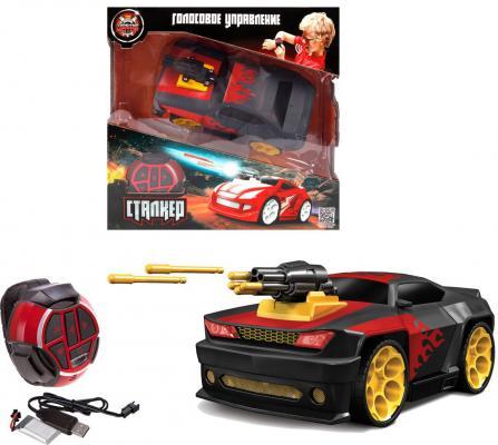 Машинка на радиоуправлении Пламенный мотор Сталкер Пламя черный машинка пламенный мотор цвет красный