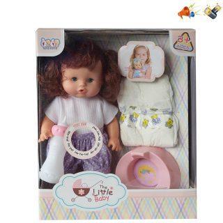 Кукла Наша Игрушка Кукла 30 см со звуком писающая пьющая цена