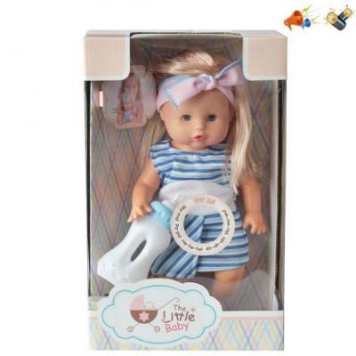 Кукла Наша Игрушка Кукла 30 см со звуком цена
