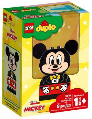 Конструктор LEGO Duplo: Disney Мой первый Микки 9 элементов 10898 конструктор lego duplo мой первый поезд 10507