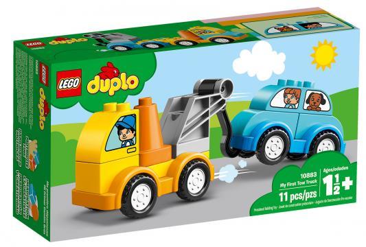 Конструктор LEGO Duplo: Мой первый эвакуатор 11 элементов 10883 конструктор lego duplo мой первый поезд 10507