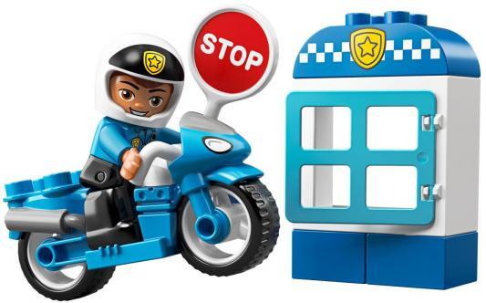 Купить Конструктор LEGO Полицейский мотоцикл 8 элементов, Конструкторы