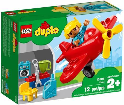 Конструктор LEGO Duplo Town Самолёт 12 элементов 10908