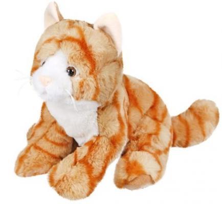 Мягкая игрушка котенок Fluffy Family Рыжик искусственный мех трикотаж пластик 22 см мягкая игрушка котенок fluffy family крошка котенок бел 15 см белый искусственный мех наполнитель