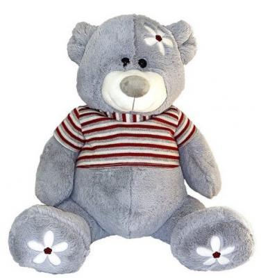 Мягкая игрушка мишка Fluffy Family Ромашка трикотаж искусственный мех пластик 45 см