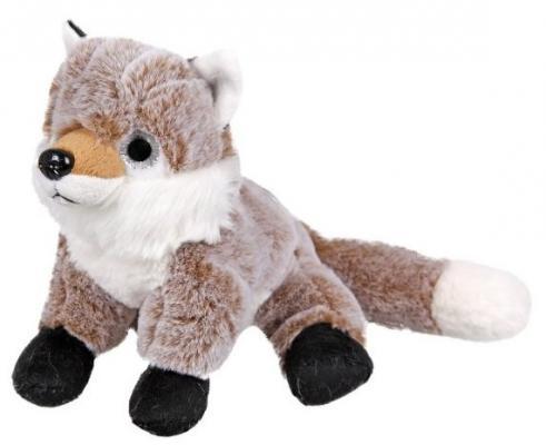 Мягкая игрушка лисица Fluffy Family Лиса искусственный мех трикотаж пластик 18 см