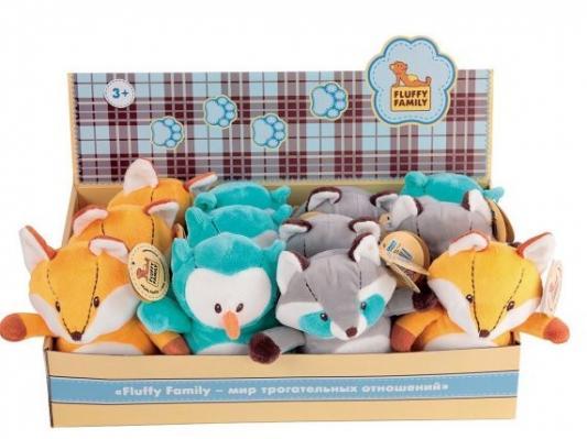 Мягкая игрушка зверушка Fluffy Family Лесная семейка искусственный мех трикотаж в ассортименте 15 см