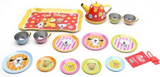 Набор посуды Наша Игрушка для чаепития металлическая набор посуды плейдорадо для чаепития 22016