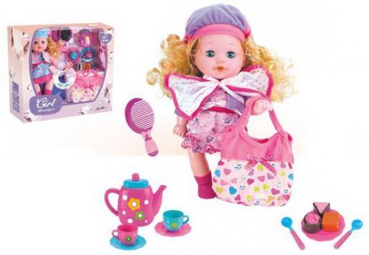 Кукла Яна 35 см, пьет, писает, озвуч., аксесс. 14 предм., в ассорт., кор. цена