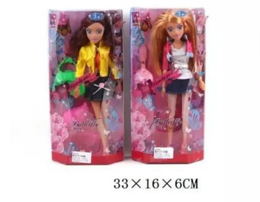 Кукла Наша Игрушка Модница 30 см