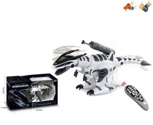 Купить Динозавр Наша Игрушка Динозавр пластик от 3 лет черно-белый, Радиоуправляемые игрушки