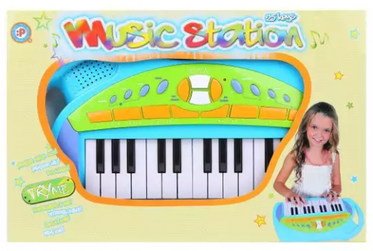 Синтезатор Наша Игрушка Music Station