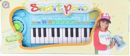 музыкальные игрушки potex синтезатор smart piano 32 клавиши 939в Синтезатор Наша Игрушка Smart Piano