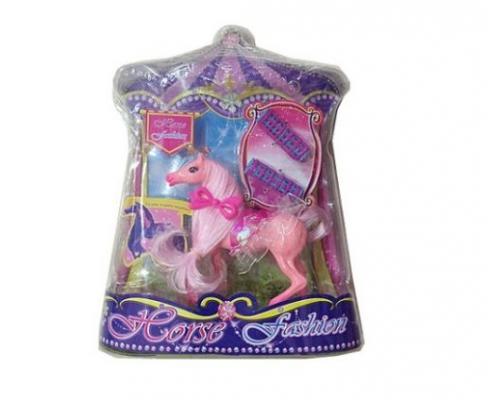 Лошадь для кукол Наша Игрушка Лошадка цирковая игрушка попрыгунчик наша игрушка лошадка