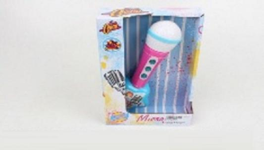 Купить Интерактивная игрушка Наша Игрушка Микрофон от 3 лет, разноцветный, 24 см, пластик, унисекс, Игрушки со звуком