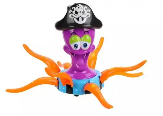 Интерактивная игрушка Наша Игрушка Осьминог-пират от 3 лет пластмассовая игрушка для ванны alex осьминог 842s