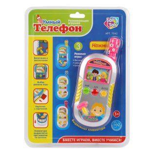 Интерактивная игрушка Наша Игрушка Умный телефон от 3 лет игрушка