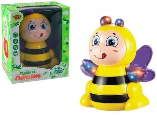 цена Интерактивная игрушка Наша Игрушка Пчелка от 3 лет жёлтый онлайн в 2017 году