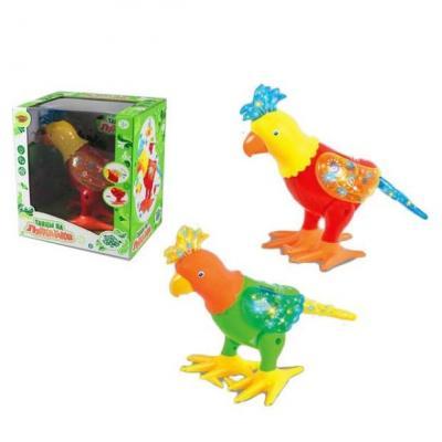 Интерактивная игрушка Наша Игрушка Попугай от 3 лет в ассортименте интерактивная игрушка наша игрушка телефончик ало ало от 3 лет цвет в ассортименте 6688 1
