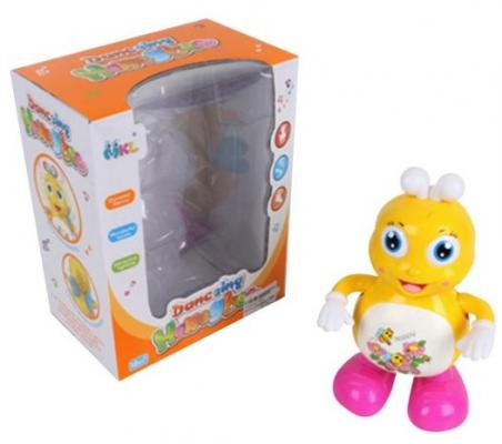 Интерактивная игрушка Наша Игрушка Пчелка от 1 года жёлтый интерактивная игрушка ks kids девочка julia для купания от 1 года белый ка10419