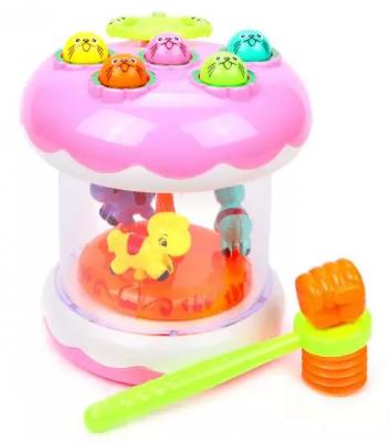 Интерактивная игрушка Наша Игрушка Е-Нотка с молоточком от 1 года интерактивная игрушка ks kids девочка julia для купания от 1 года белый ка10419