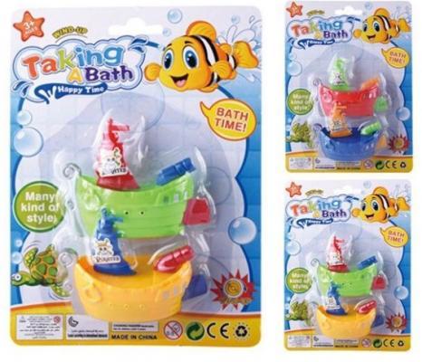Купить Заводная игрушка Наша Игрушка Кораблики заводные, в ассортименте, Игрушки для купания