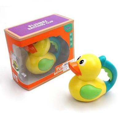 Игрушка для купания для ванны Наша Игрушка Уточка игрушка для ванны s s toys книжка перчатка для купания