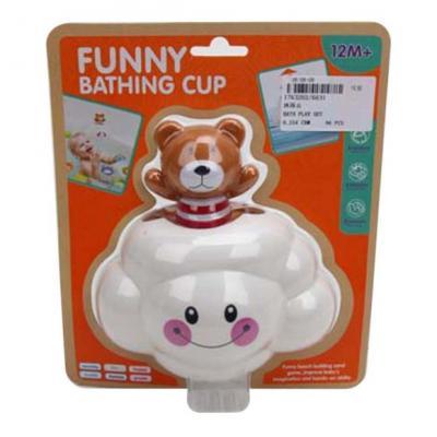Игрушка для купания для ванны Наша Игрушка Тучка игрушка для ванны s s toys книжка перчатка для купания