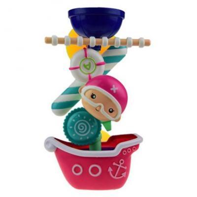 Игрушка для купания для ванны Наша Игрушка Пиратская мельница игрушка для ванны s s toys книжка перчатка для купания