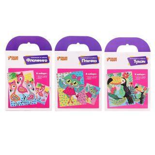 Набор для творчества Color Puppy Птицы от 3 лет набор для творчества color puppy жидкий пластилин от 3 лет 95331