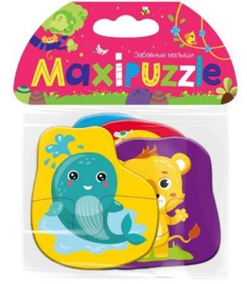 Пазл Malamalama Забавные малыши 8 элементов мягкий пазл malamalama авс английский алфавит mfp27047