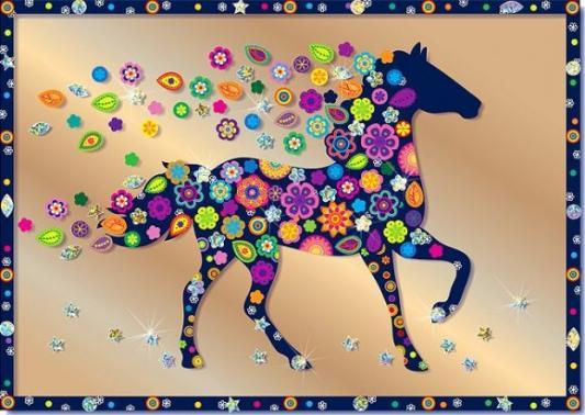 Купить Набор для изготовления картин Клеvер Конь от 8 лет, Наборы для аппликации