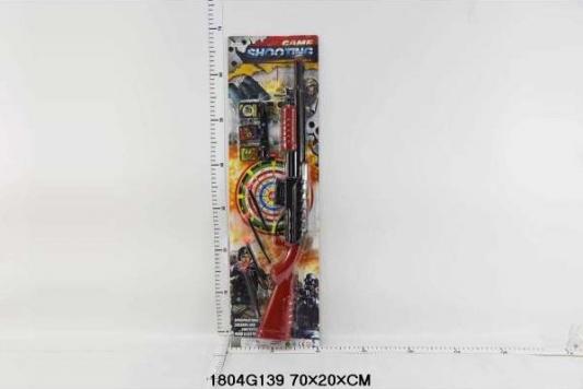 Купить Ружье Shantou Ружьё с присосками, разноцветный, Размер: 70*20 см., для мальчика, Игрушечное оружие