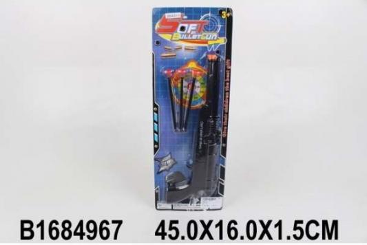 Купить Ружье Shantou Ружье с присосками черный, 2x16x42см, для мальчика, Игрушечное оружие