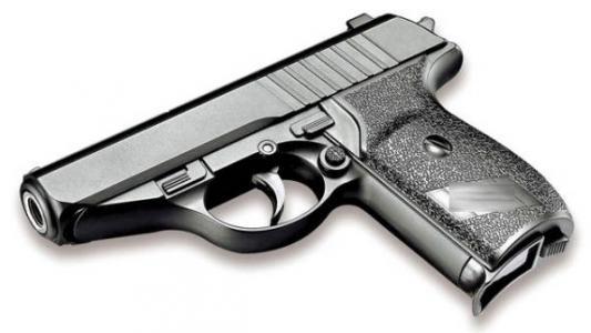 Пистолет Shantou черный