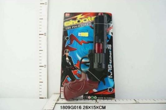 Купить Пистолет Shantou Пистолет-трещетка, разноцветный, 4x26x15см, для мальчика, Игрушечное оружие