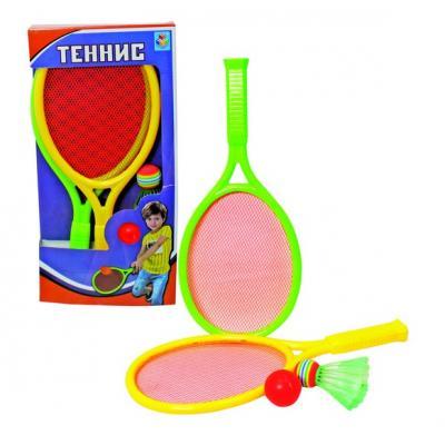 Набор спортивных игр 1toy Набор для тенниса товары для спортивных игр sports park