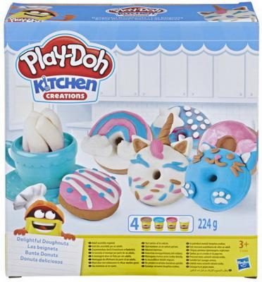 Купить Игровой Набор Hasbro Play-Doh Плей-До Выпечка и пончики, Игровые наборы с пластилином