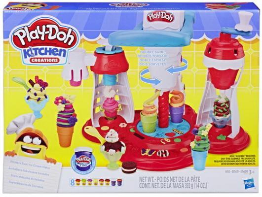 Hasbro Play - Doh игровой набор МИР МОРОЖЕНОГО hasbro play doh e0042 игровой набор создай любимое мороженое